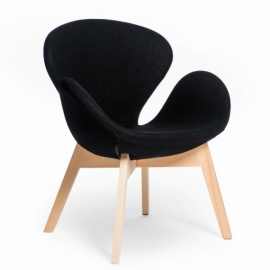 furmod Swart fauteuil