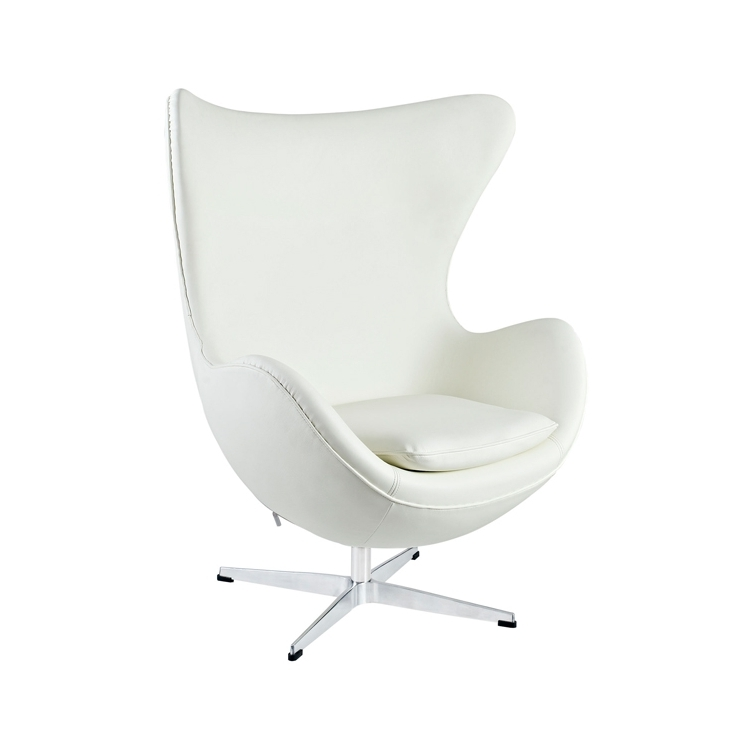 Egg Chair Sessel Leder Modern Sessel Furnmod