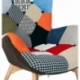 "furmod Sillón Featherston Patchwork ""New Edition"""