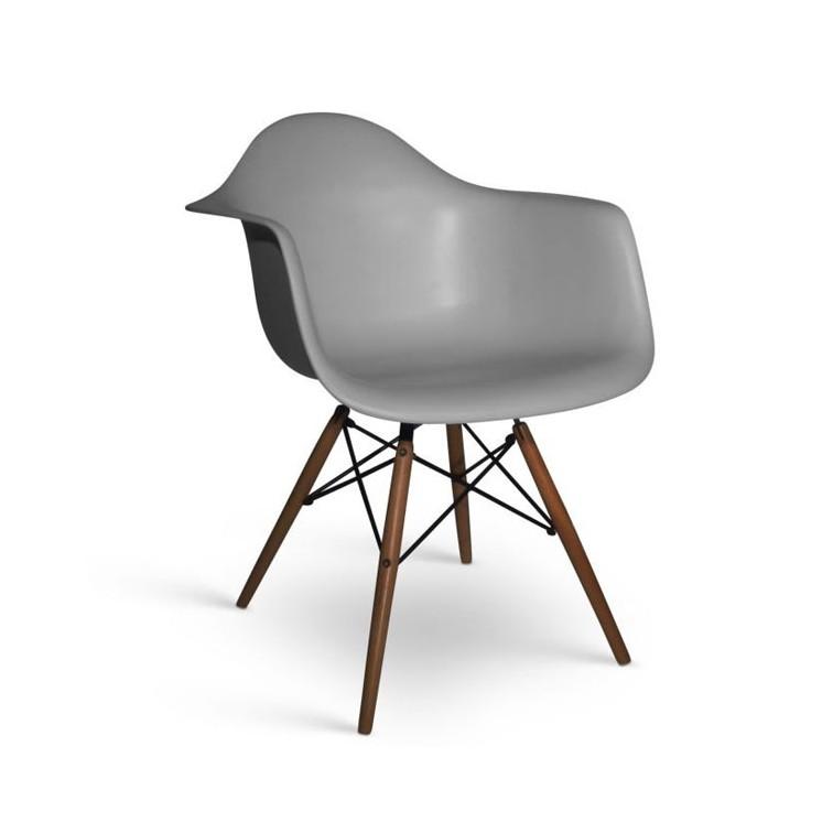 stuhl james wood xl dunkel designerst hle furnmod. Black Bedroom Furniture Sets. Home Design Ideas