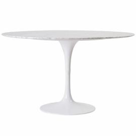 Dining Tulip Pöytä 100 cm Carraran marmorista