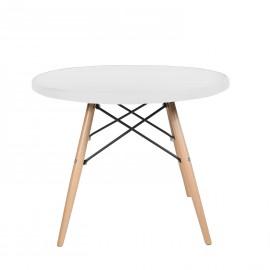 furmod Stół Eames w stylu kawy z tworzywa sztucznego