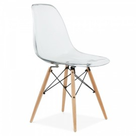 "furmod Silla Eames DSW Style Transparente ""New Edition"""