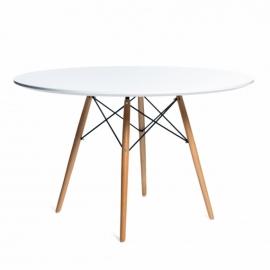 Dřevěný stůl Lemans Wood (120 cm)