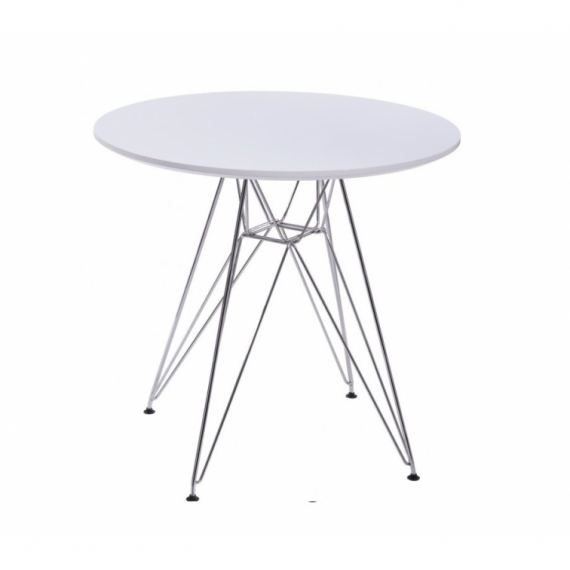 furmod Eames Tower-stijl tafel (80 cm)