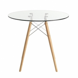 stůl Lemans Glass (70 cm)