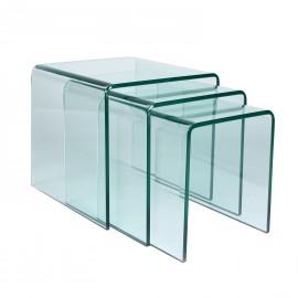 TISCH PLOTU GLASS