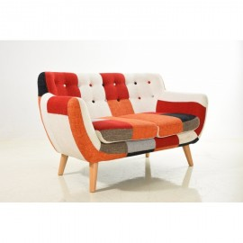 "Sofa Club Patchwork Colors ""2-Sitzer"""