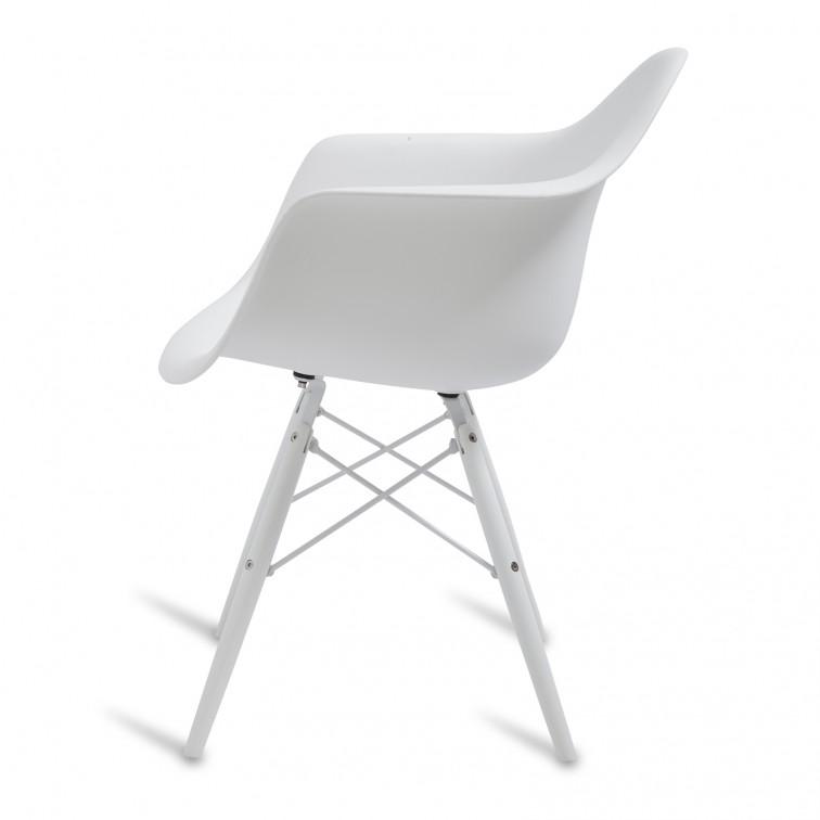 stuhl eames daw snow. Black Bedroom Furniture Sets. Home Design Ideas