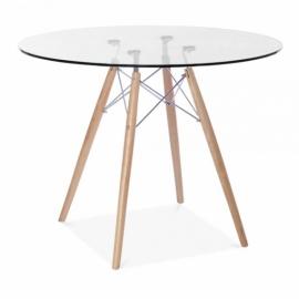 Tisch Lemans Glass (90 cm)