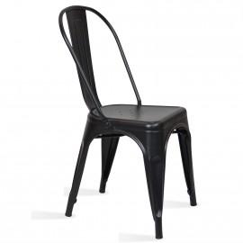 Průmyslová židle Bistro Style Matt
