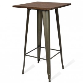 Stehtisch Bistro Dark Legs Antique