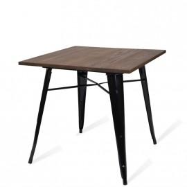 Tisch BIstro Dark Legs Schwarz