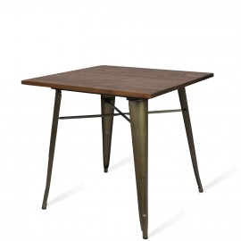 Tisch Bistro Dark Legs Antique