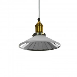 Lampe Classic Wide Weiss