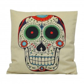 Kissen Skull Multicolor