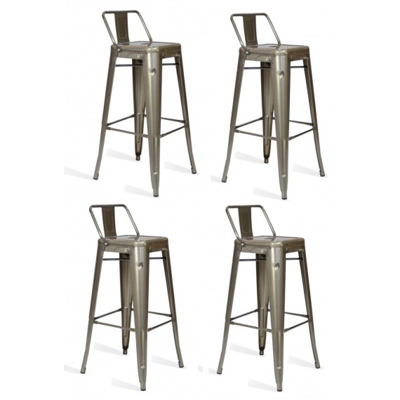 Pack 4 Hocker Bistro LB Icon Möbel