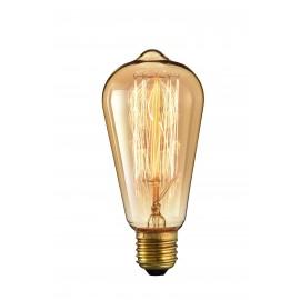Vintage 40W glödlampa med E27-stöd och 220-240V
