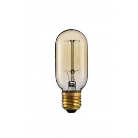 Vintage A 40W lamp met E27 steun en 220-240V