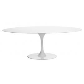 furmod Oval Tulip Table MDF