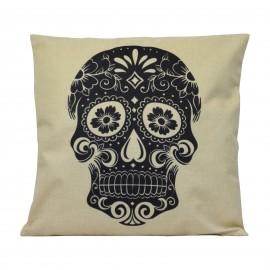 Kissen Black Skull
