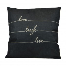 Kissen Love Laugh Live