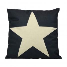 Kissen White Star