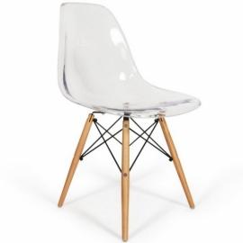 """Lemans Wood Tuoli """"High Quality"""" Läpinäkyvä"""
