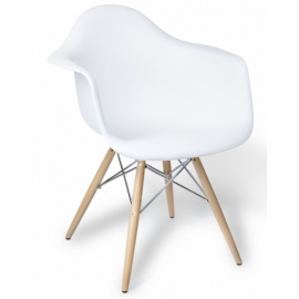 "Krzesło Lemans Wood ""High Quality"" XL Chrome Edition"
