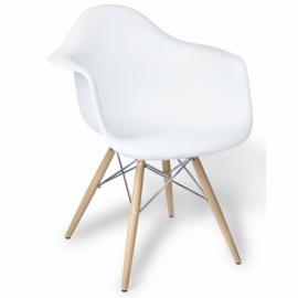 Stuhl Lemans Wood XL Chrome Edition