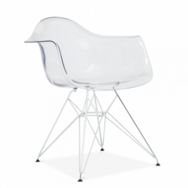 Furmod Eames DAR Style Chair Transparent