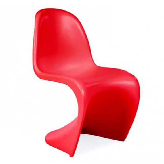 furmod Panton-stijl stoel