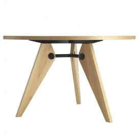 furmod Table Gueridon Prouve Style (100 cm)