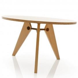 furmod Table Gueridon Prouve Style (120 cm)