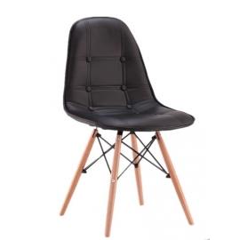furmod Eames-tyyppinen verhoiltu tuoli