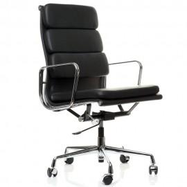 Kancelářská židle Soft Pad HighBack vyrobená z lícové kůže