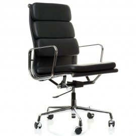 Krzesło Biurowe Soft Pad HighBack Wykonane ze skóry licowej