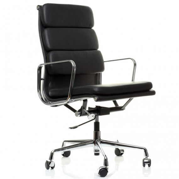 Krzesło Inspiration Soft Pad Chair EA219 firmy <span class='notranslate' data-dgexclude>Charles & Ray Eames</span>