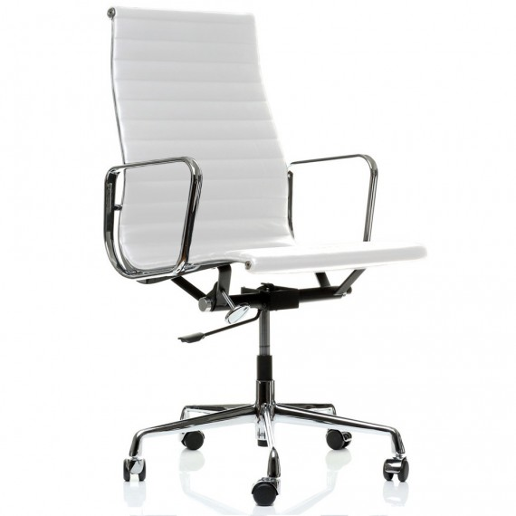 Krzesło biurowe Replica Aluminium EA119 firmy <span class='notranslate' data-dgexclude>Charles & Ray Eames</span> .