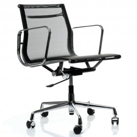 Replica Aluminium EA107 Bürostuhl von Charles & Ray Eames.