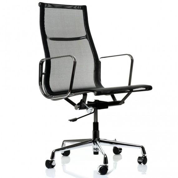 Replika aluminiowego krzesła biurowego EA108 firmy <span class='notranslate' data-dgexclude>Charles & Ray Eames</span> .