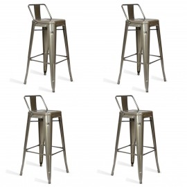 Pack 4 Hocker Bistro LB