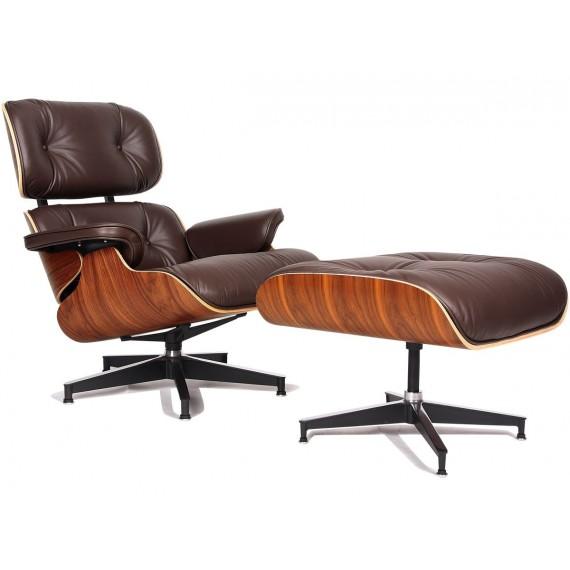 Charles & Ray Eames alkuperäinen Replica Eames Lounge -tuoli