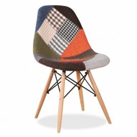 """Patchworková židle """"Nové vydání"""""""