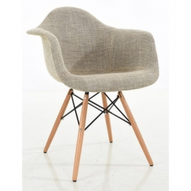 Stuhl Lemans Wood Fabric XL