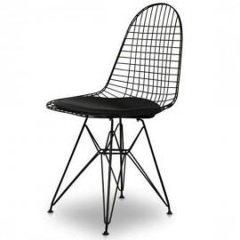 Inspiracja Krzesło Eames Wire DKR z poduszką