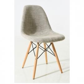 """Stuhl Lemans Wood """"High Quality"""" Fabric"""