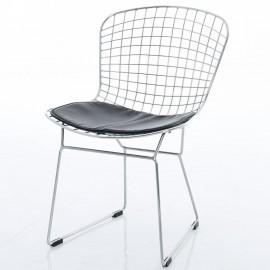Krzesło Bertoia ze Stali Chromowanej