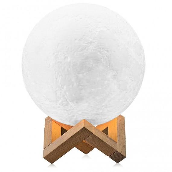 3D Moon Lamp LED-Licht mit 15 cm Durchmesser und USB-Anschluss