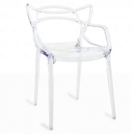 Krzesło Inspiration Transparent Masters od uznanego projektanta Phillipe'a Starcka